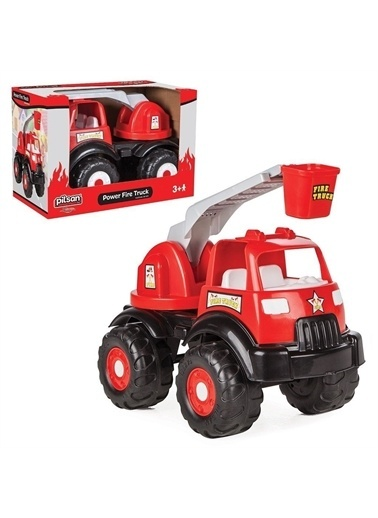 Pilsan Pilsan Power İtfaiye Kamyon 06 519 - Pilsan Power Fire Truck Renkli